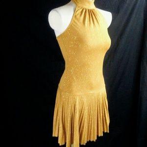 Sexy Gold Dress